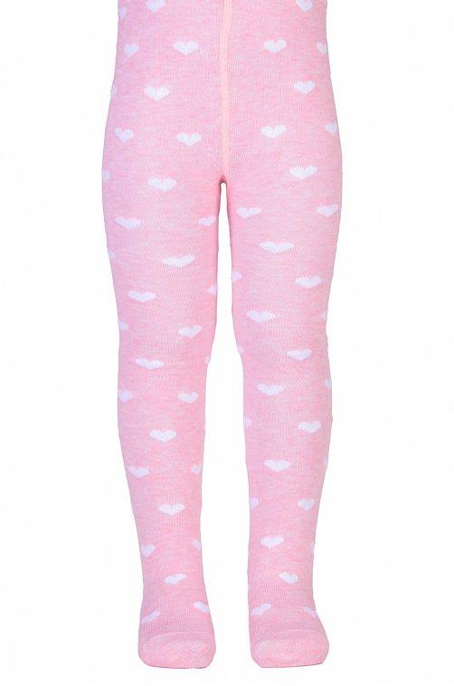 Колготки для девочки Красная ветка 6640023 розовый купить оптом в HappyWear.ru