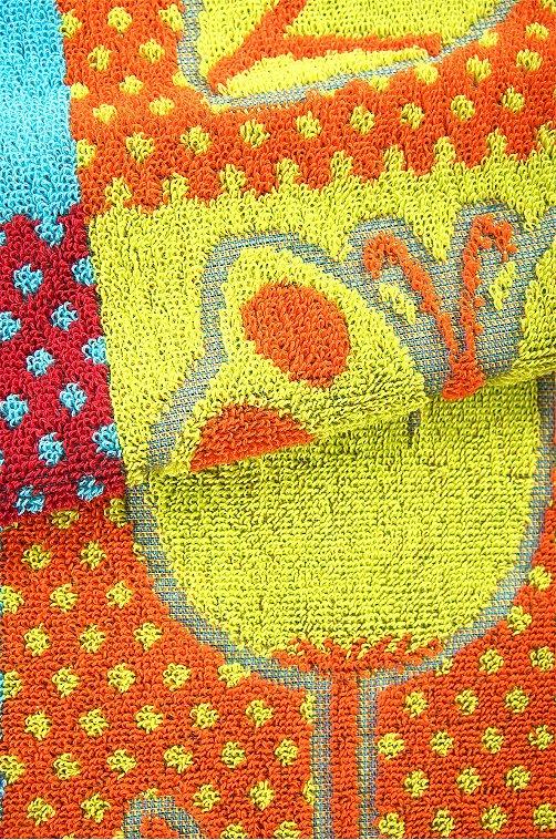 Полотенце махровое Авангард веселые.кубики,цветной