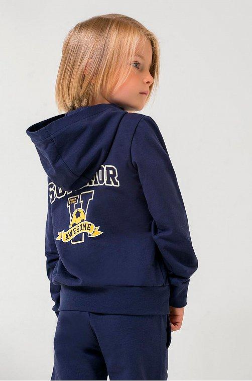 Жакет для мальчика Crockid 6628055 синий купить оптом в HappyWear.ru