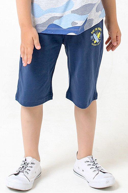 Шорты для мальчика Crockid 6640391 синий купить оптом в HappyWear.ru