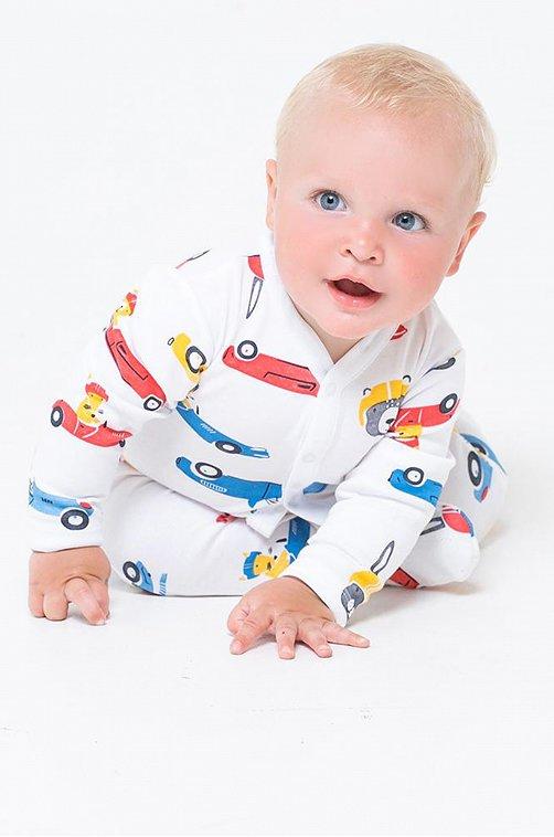 Комбинезон для мальчика Crockid 6630054 мультиколор купить оптом в HappyWear.ru
