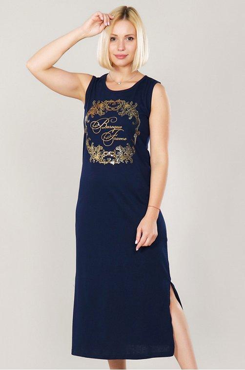 Платье женское Dianida 6616160 синий купить оптом в HappyWear.ru