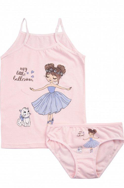 Комплект для девочки Donella 6611096 розовый купить оптом в HappyWear.ru