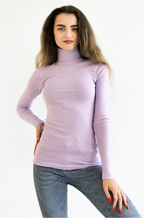 Водолазка женская Грация 6567822 фиолетовый купить оптом в HappyWear.ru