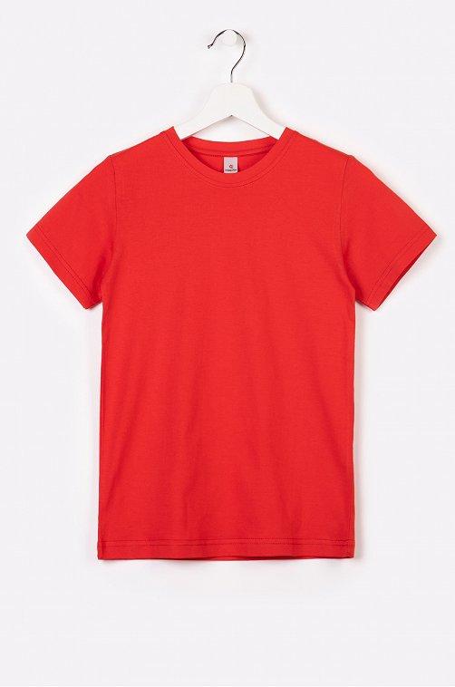 Хлопковая мужская футболка Happy Fox красный