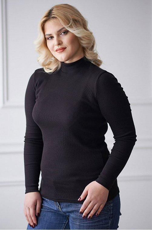 Водолазка женская Шarliзе 6612469 черный купить оптом в HappyWear.ru