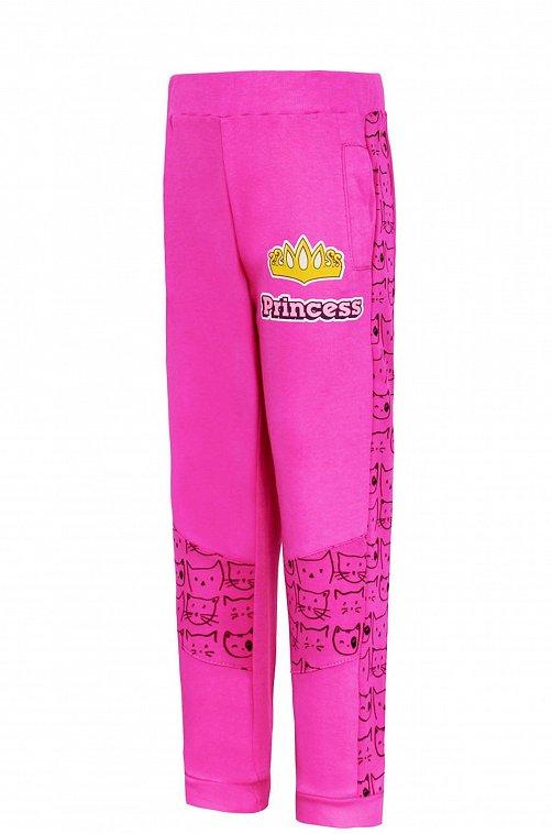 Брюки для девочки Иново 6613928 розовый купить оптом в HappyWear.ru