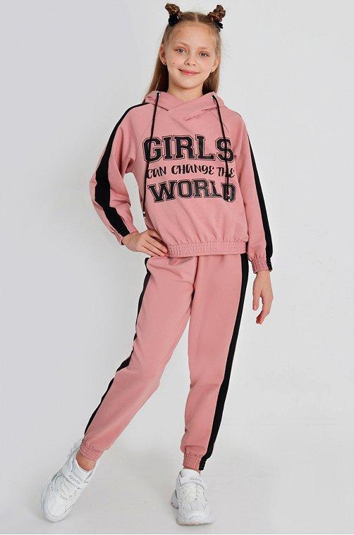 Костюм для девочки Ивашка 6614394 розовый купить оптом в HappyWear.ru