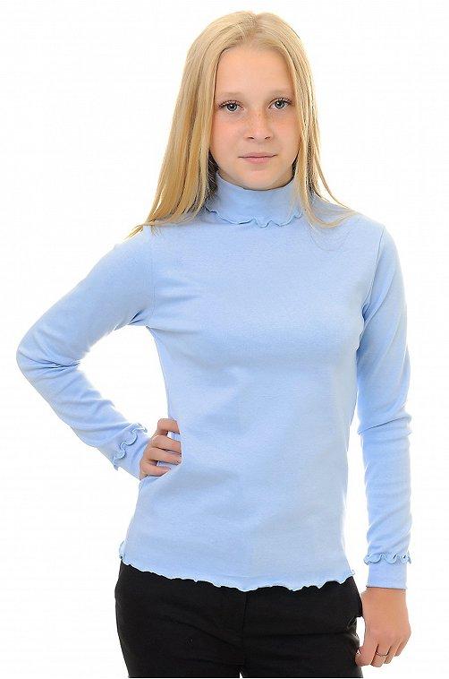 Водолазка для девочки Кактус 6615077 голубой купить оптом в HappyWear.ru
