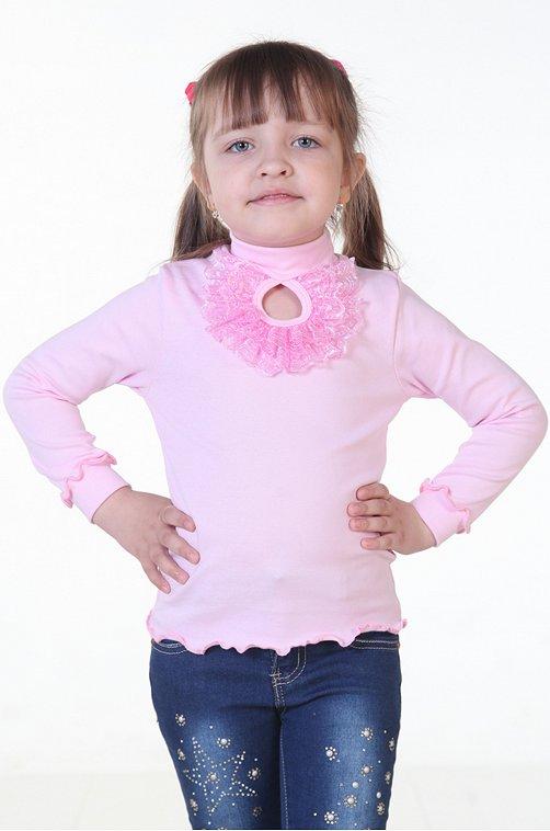 Водолазка для девочки Кактус 6626460 розовый купить оптом в HappyWear.ru