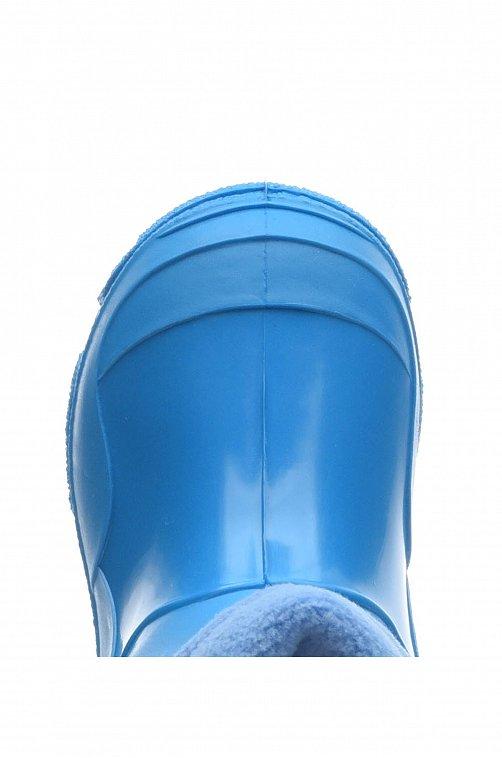 Сапоги для мальчика утепленные Каури голубой