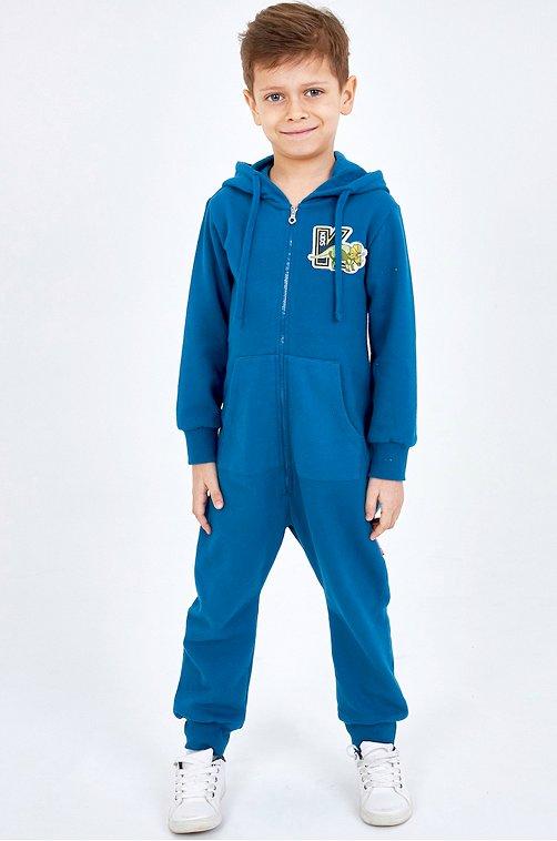 Утепленный комбинезон для мальчика KOGANKIDS синий