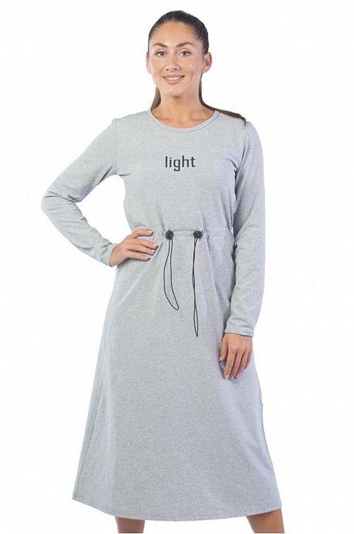 Платье женское Klery 6618452 серый купить оптом в HappyWear.ru