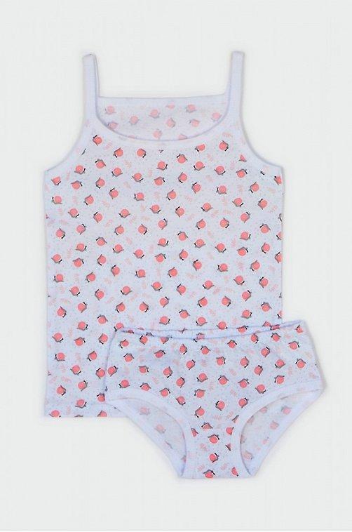Комплект для девочки LESI KIDS 6645608 белый купить оптом в HappyWear.ru
