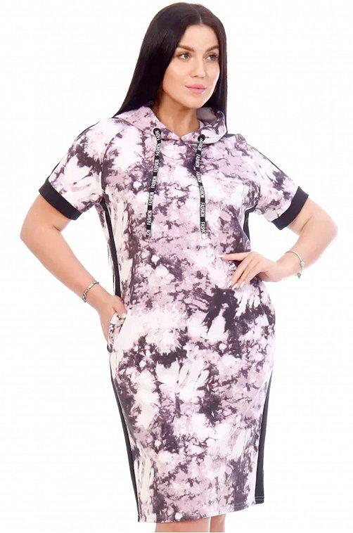 Женское платье 6648829 мультиколор купить оптом в HappyWear.ru