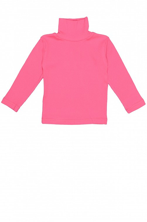 Водолазка для девочки Малинка 6620203 розовый купить оптом в HappyWear.ru