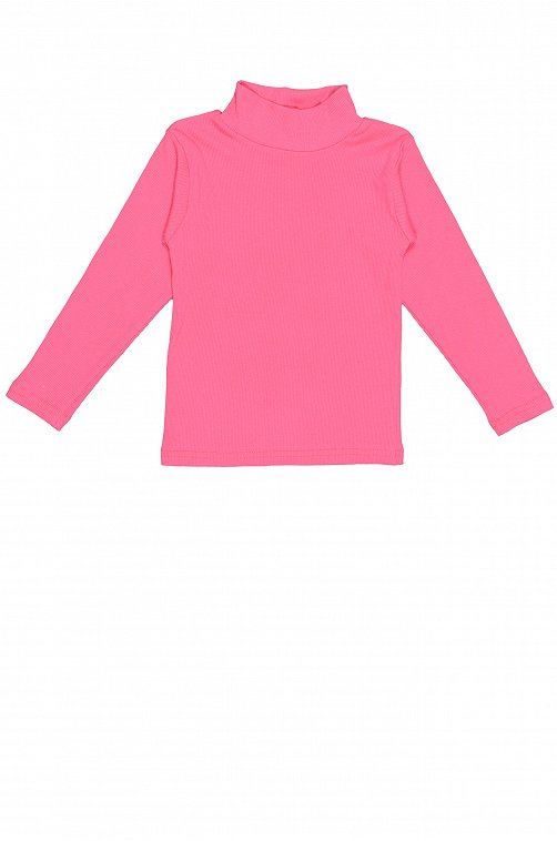 Водолазка для девочки Малинка 6620204 розовый купить оптом в HappyWear.ru