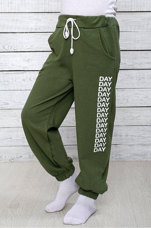 Брюки для мальчика Малинка 6608663 зеленый купить оптом в HappyWear.ru