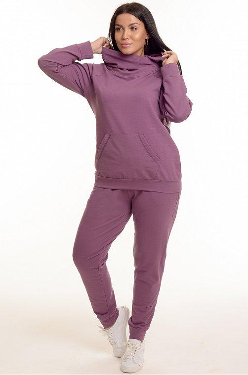 Женский костюм 6655582 фиолетовый купить оптом в HappyWear.ru