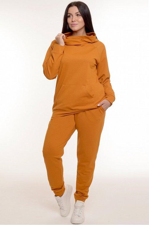 Женский костюм 6655581 оранжевый купить оптом в HappyWear.ru