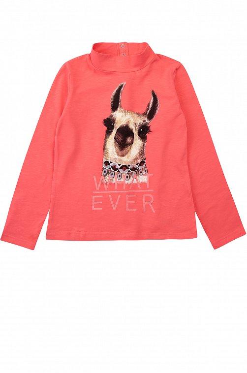 Джемпер для девочки Mark Formelle 6601560 розовый купить оптом в HappyWear.ru
