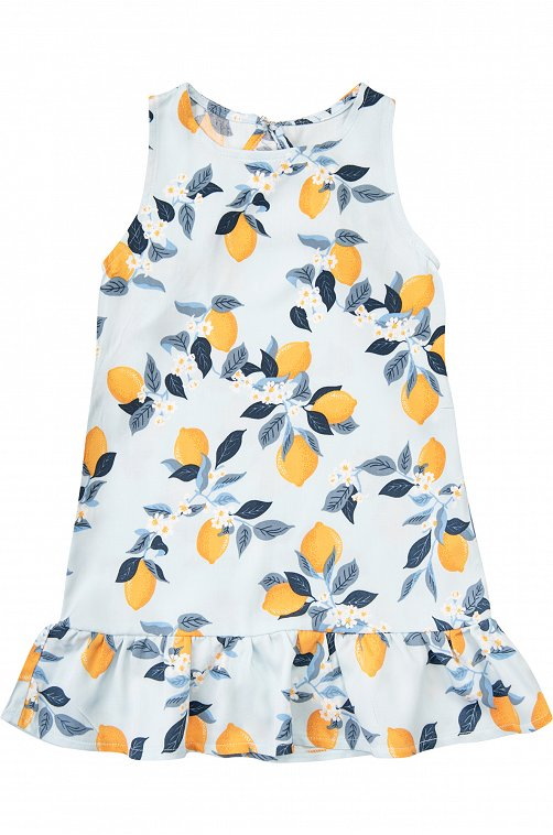 Платье для девочки Mark Formelle 6601566 голубой купить оптом в HappyWear.ru
