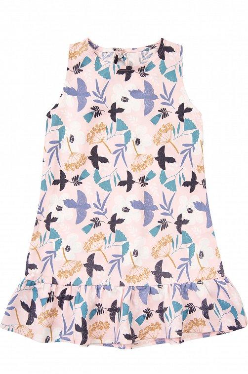 Платье для девочки Mark Formelle 6601569 розовый купить оптом в HappyWear.ru