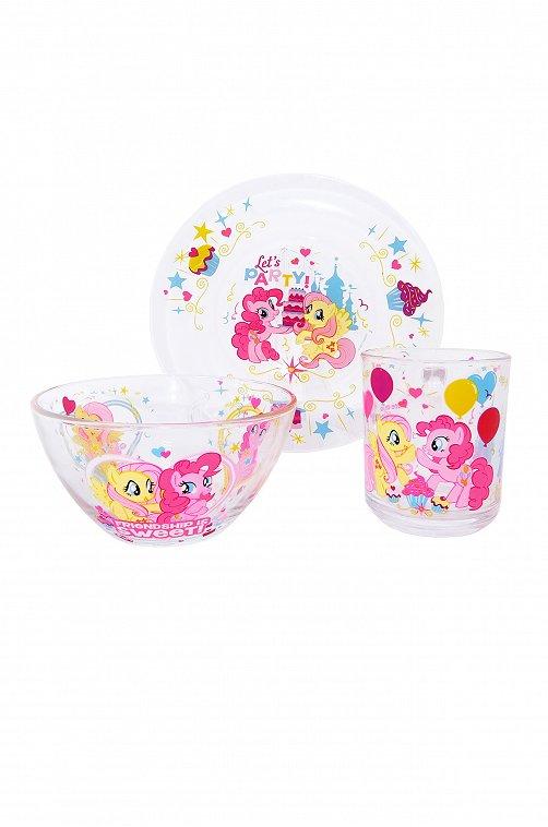 Набор посуды детский My Little Pony 6561378 мультиколор купить оптом в HappyWear.ru