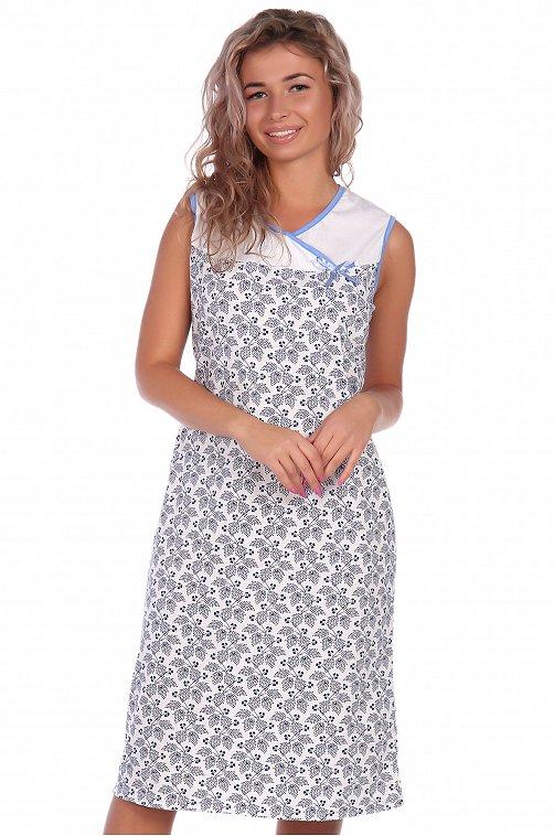 Сорочка женская NSD стиль 6614436 мультиколор купить оптом в HappyWear.ru