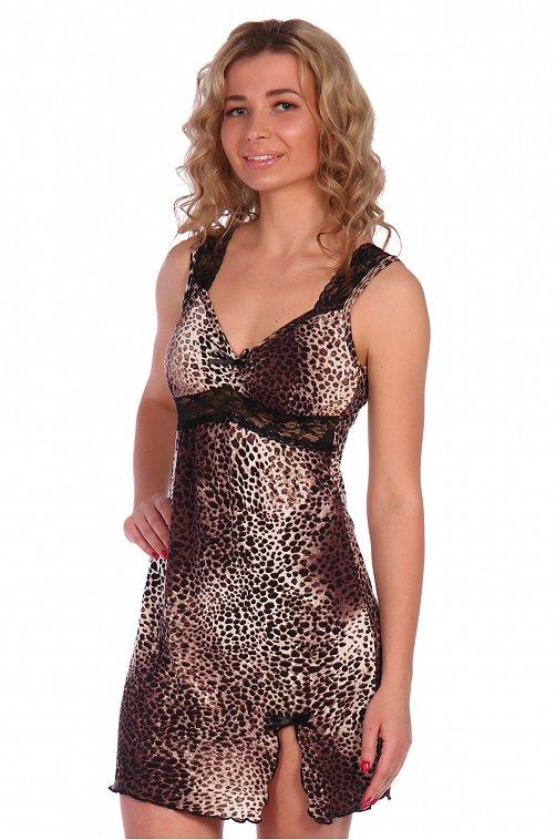 Сорочка женская из вискозы NSD стиль 6622417 мультиколор купить оптом в HappyWear.ru