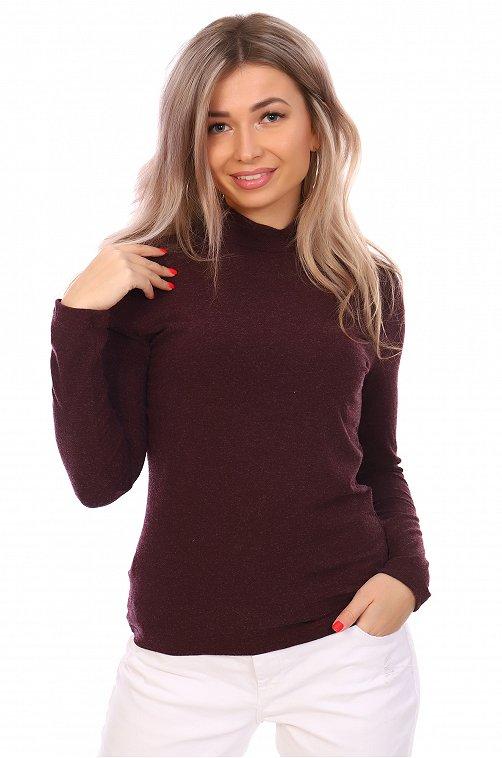 Водолазка женская NSD стиль 6617519 красный купить оптом в HappyWear.ru