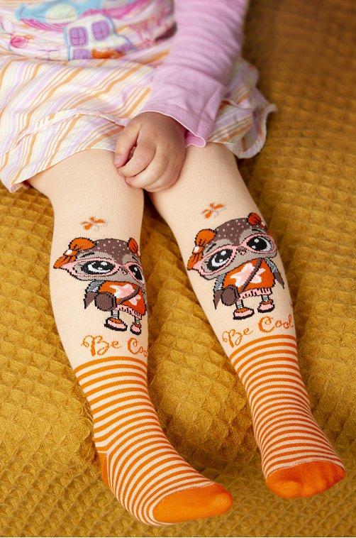 Колготки для девочки Berchelli 6613936 бежевый купить оптом в HappyWear.ru