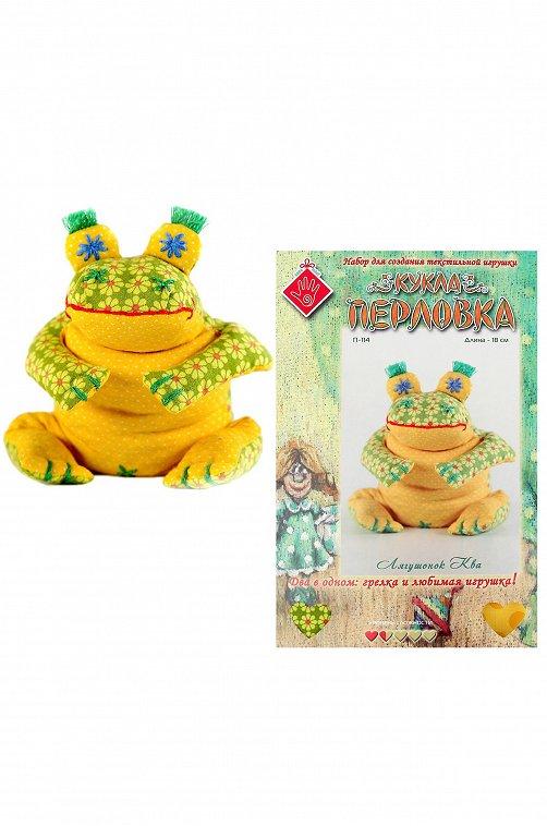 Набор для создания текстильной игрушки-грелки Кукла Перловка мультиколор