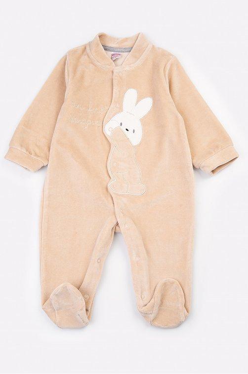 Комбинезон детский Bonito 6624013 бежевый купить оптом в HappyWear.ru