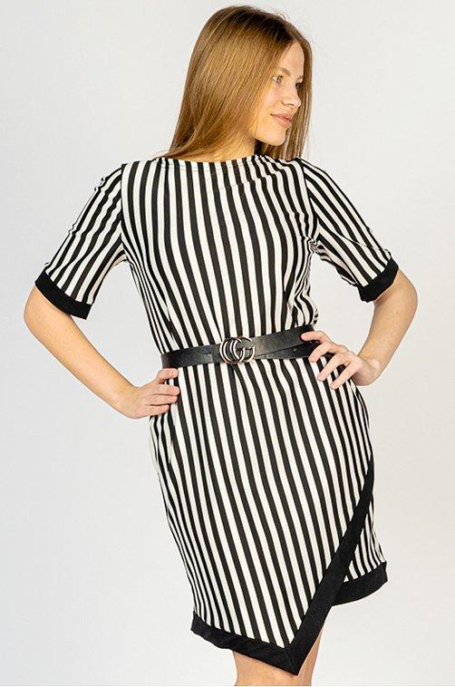 Летнее женское платье 6653320 мультиколор купить оптом в HappyWear.ru