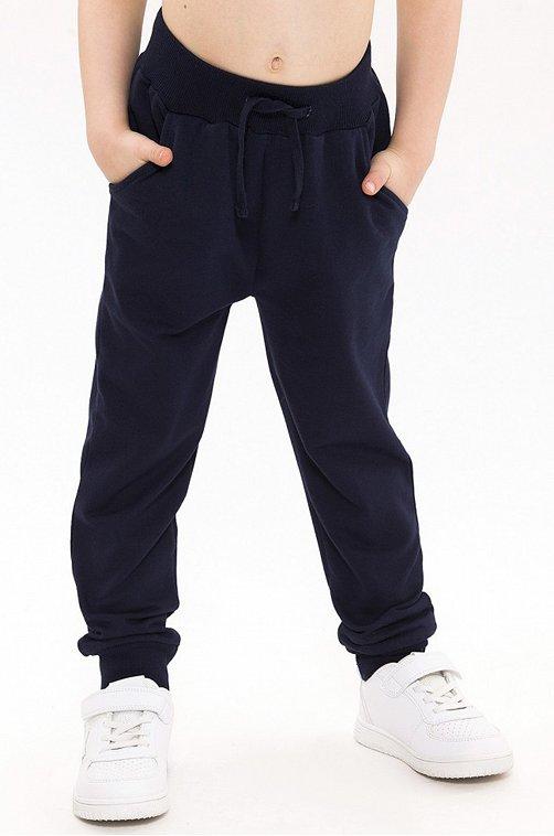 Утепленные брюки для мальчика RoxyFoxy 6631304 синий купить оптом в HappyWear.ru
