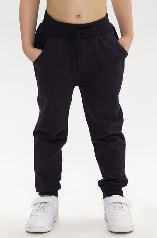 Утепленные брюки для мальчика RoxyFoxy 6631305 черный купить оптом в HappyWear.ru