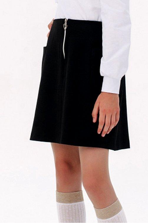 Юбка для девочки SHERYSHEFF 6602485 черный купить оптом в HappyWear.ru
