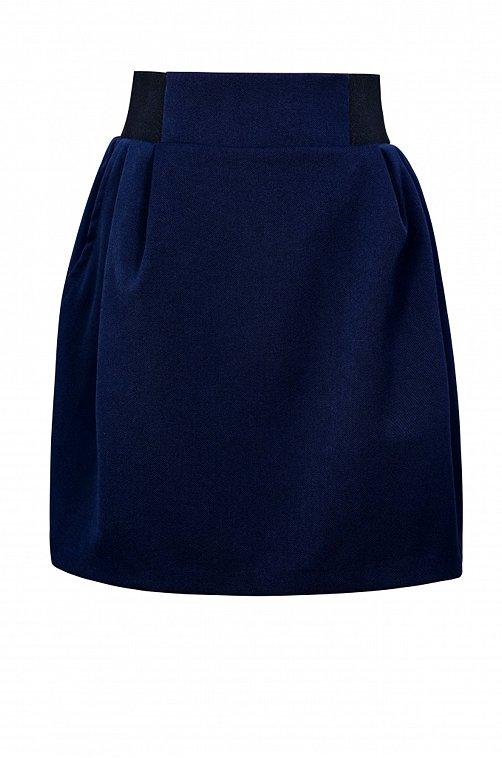 Юбка для девочки SHERYSHEFF 6602486 синий купить оптом в HappyWear.ru