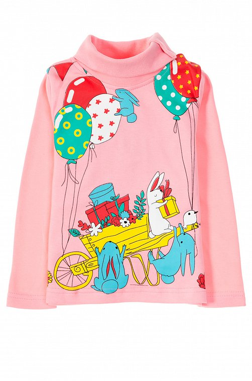 Водолазка для девочки Sladikmladik 6619652 мультиколор купить оптом в HappyWear.ru