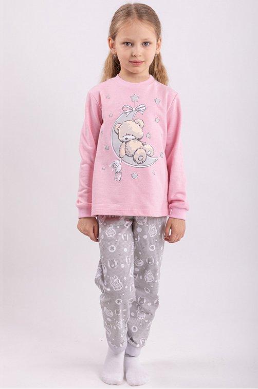 Пижама для девочки Свiтанак 6613897 мультиколор купить оптом в HappyWear.ru