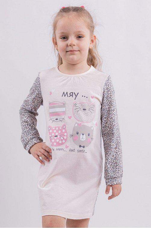 Сорочка для девочки Свiтанак 6613898 мультиколор купить оптом в HappyWear.ru