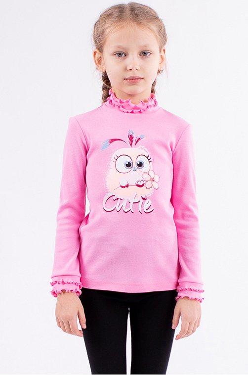 Джемпер для девочки Свiтанак 6625908 розовый купить оптом в HappyWear.ru