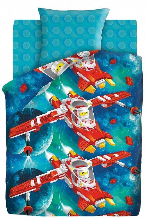 Детское постельное белье из поплина, 1,5 сп, наволочки 50*70 Непоседа 6608781 мультиколор купить оптом в HappyWear.ru