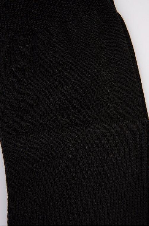 Носки мужские 10 пар Золотая игла черный